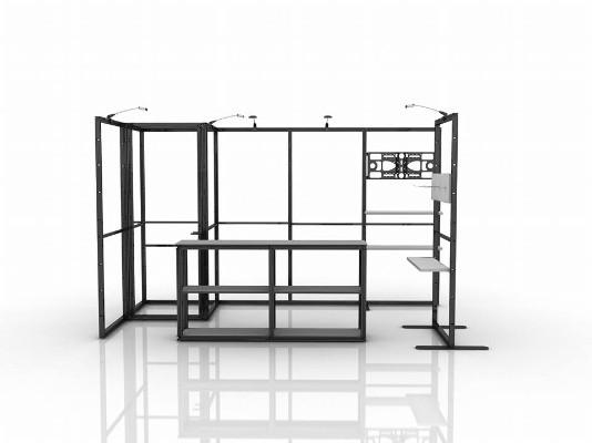 Exhibition Booth Frame : Portable fab frame system standard exhibition booth