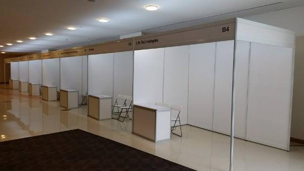 Exhibition Booth System Panel : Portable fab frame system standard exhibition booth panel