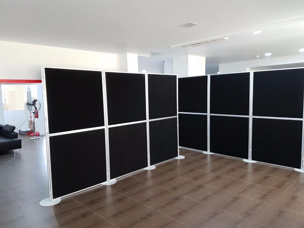 Portable Exhibition : Portable fab frame system standard exhibition booth panel