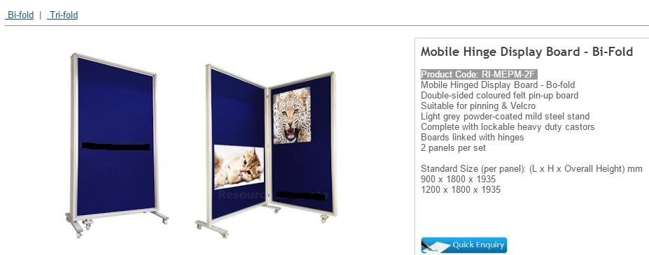 Portable Exhibition Board : Wall panel parition with wheels event show exhibition panel sheet