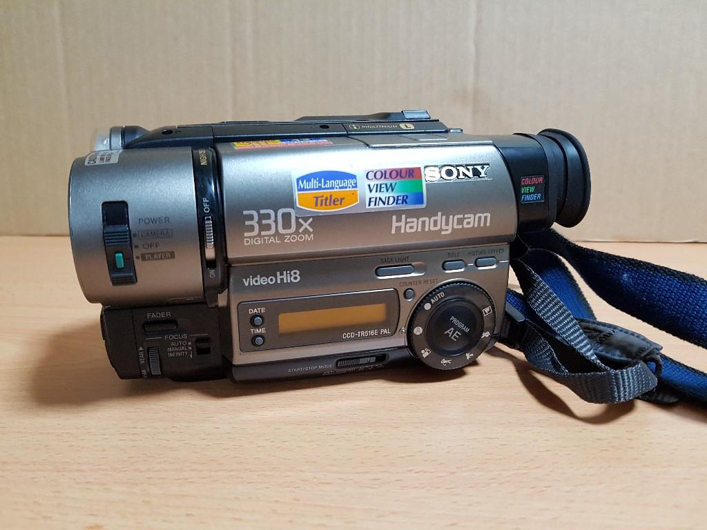 Sony Hi8 Video Tape Handycam (Camcorder) for Sale, Singapore